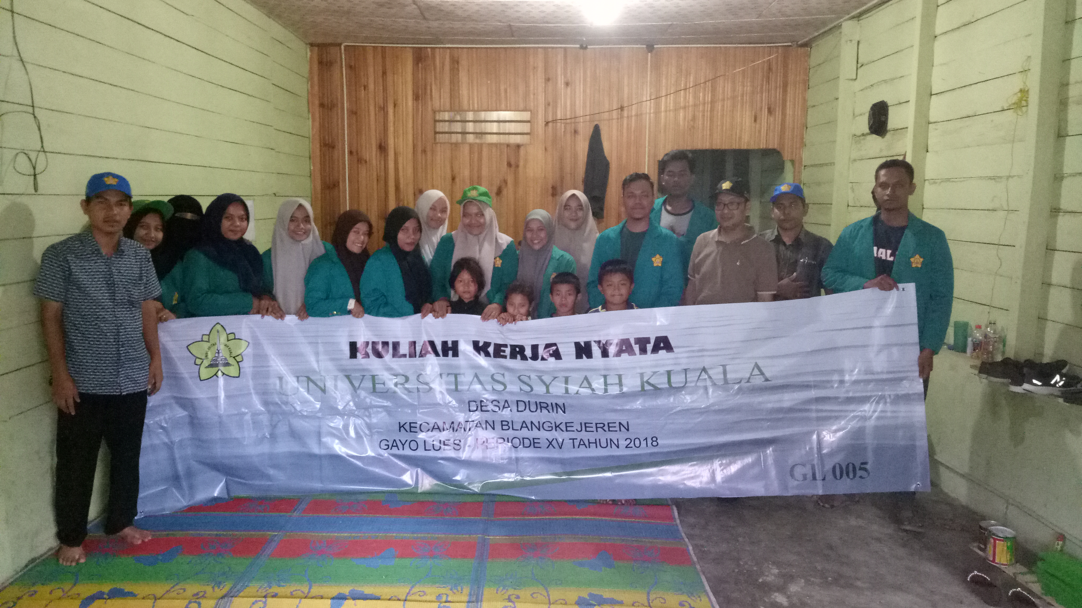 Kunjungan DPL ke Posko Kelompok KKN Gl005