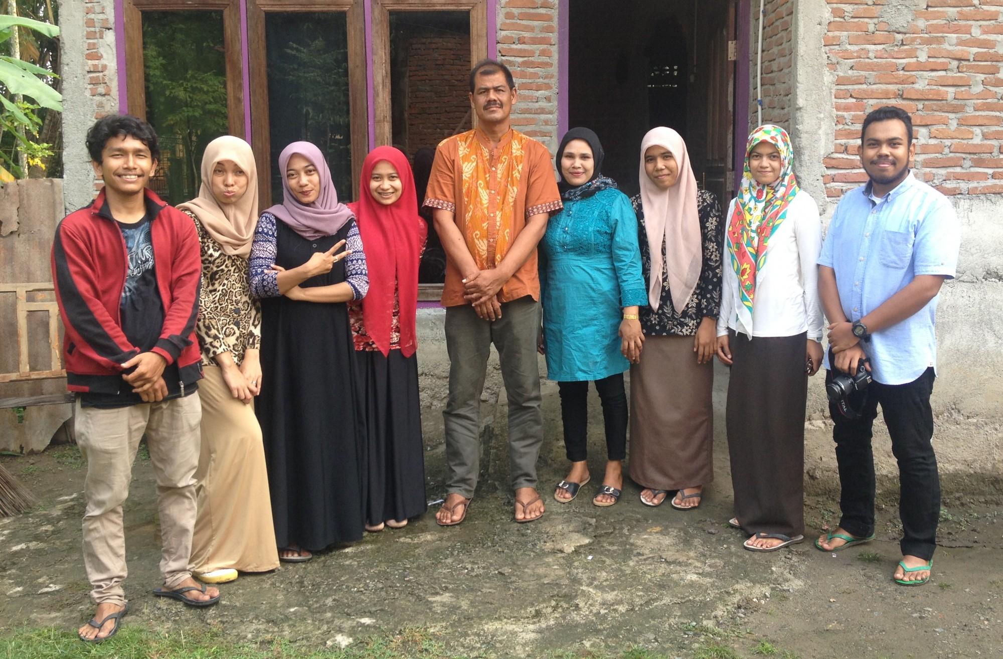 Penanggulangan Bencana Menggambar Mewarnai Kelompok P247 Kkn Unsyiah Agustus 2015