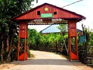 Pembangunan Gapura Gampong Seukeum | Kelompok P233 KKN ...